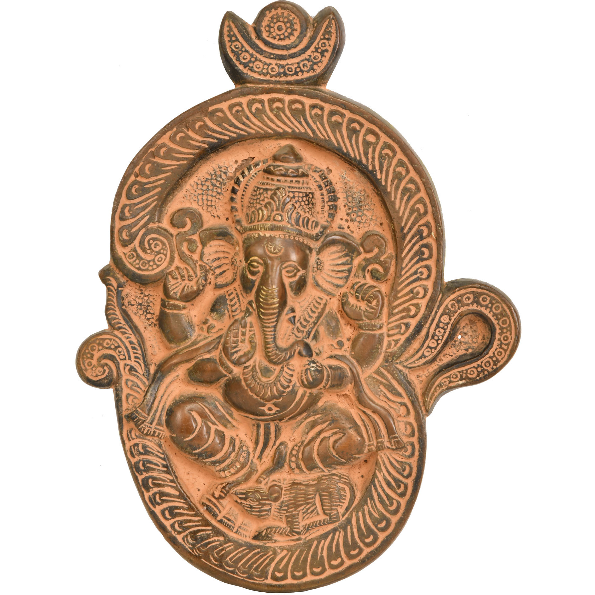 Lord Ganesha in OM Wall Hanging