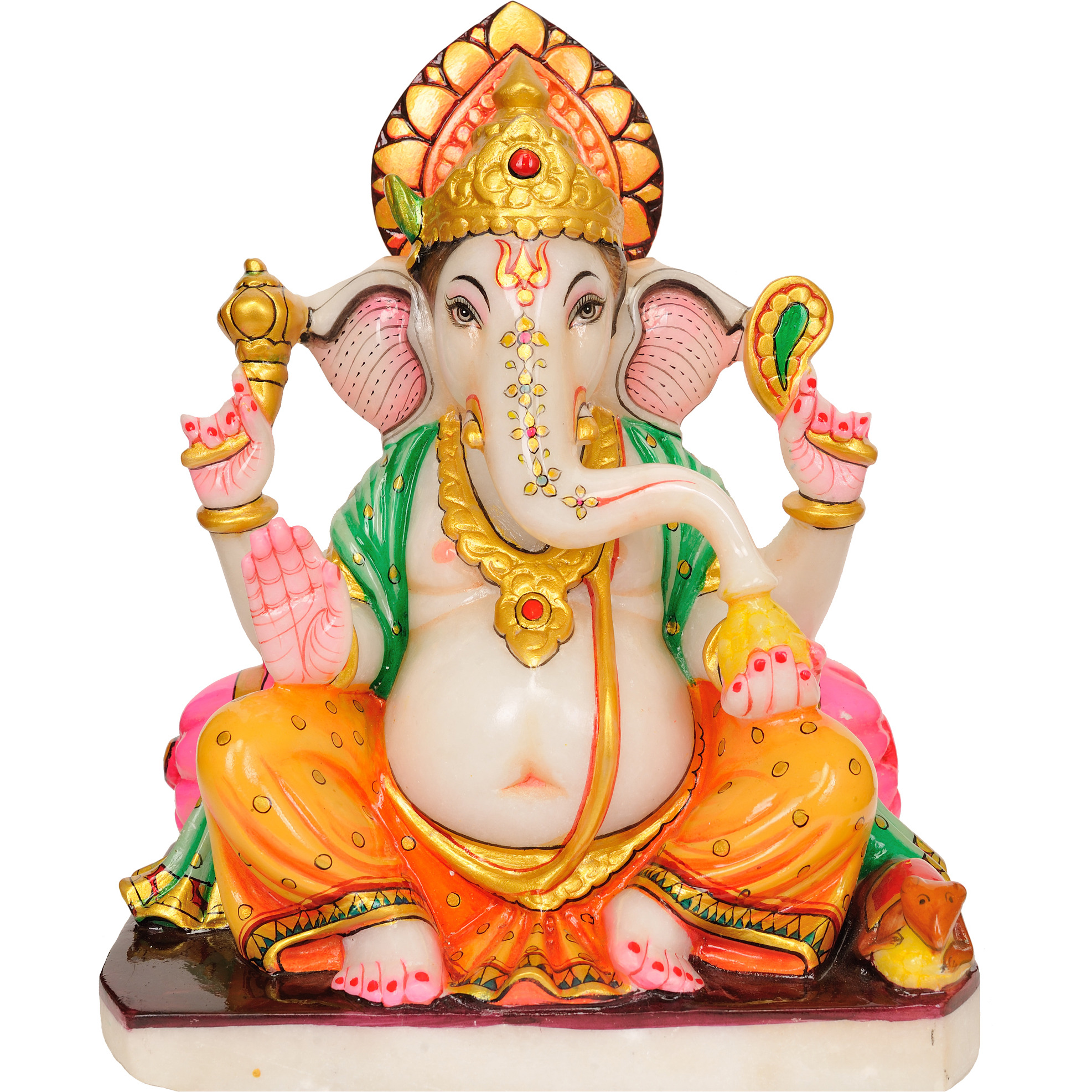 The Affectionate Ganesha