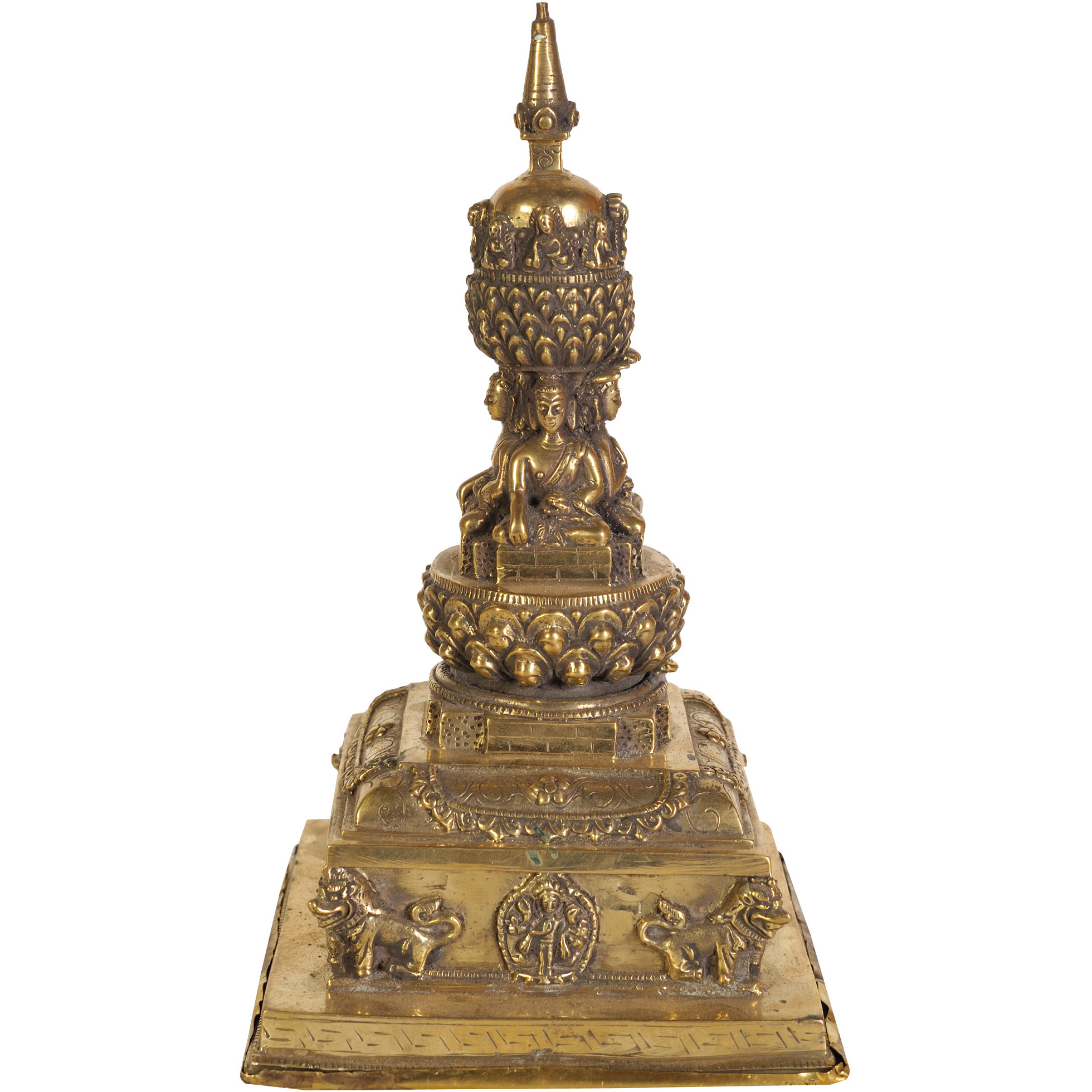 Votive Stupa with Cosmic Buddhas