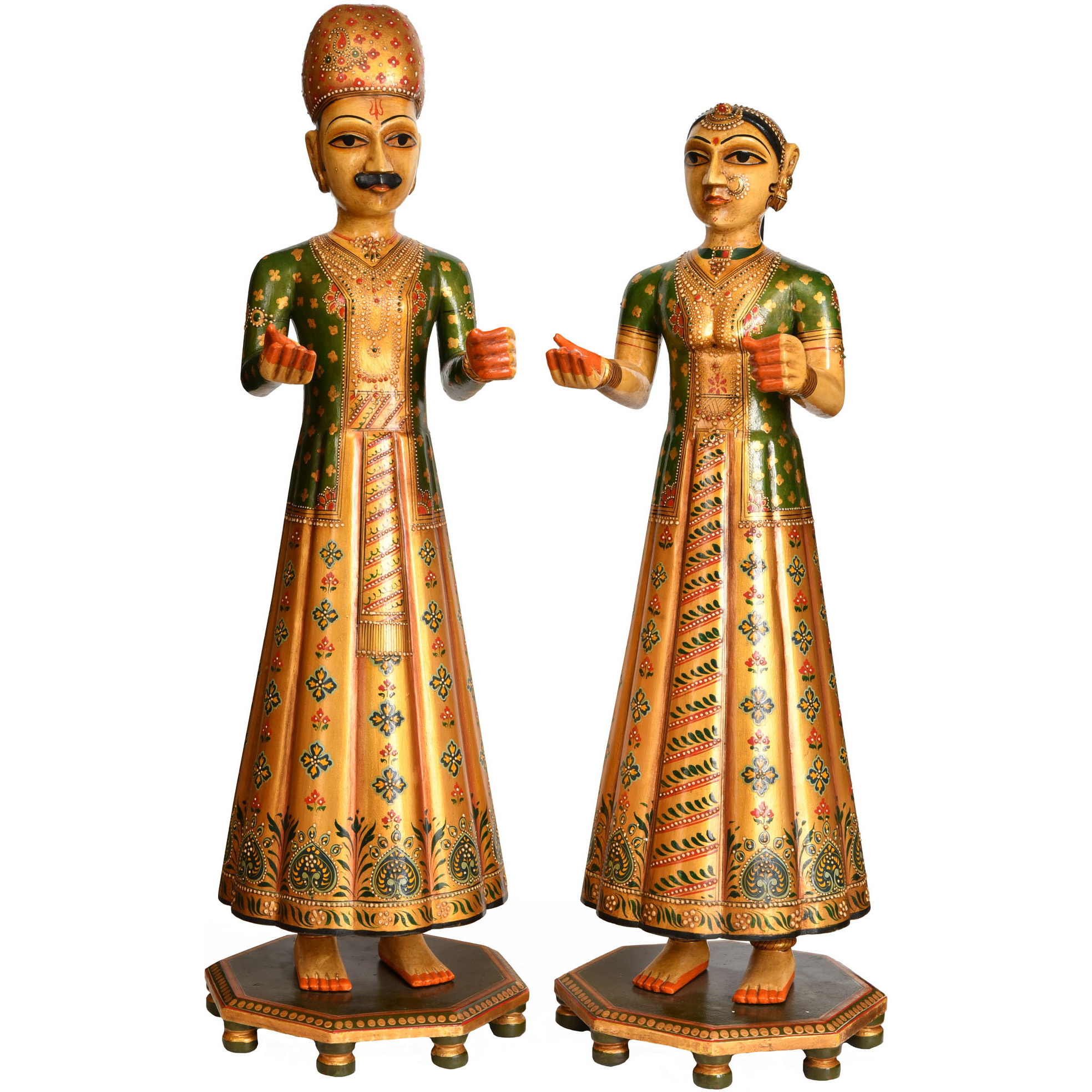 Traditional Man and Woman from Rajasthan