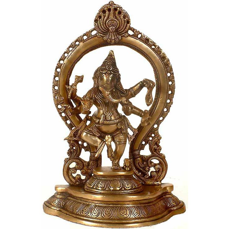 Six-Armed Dancing Ganesha