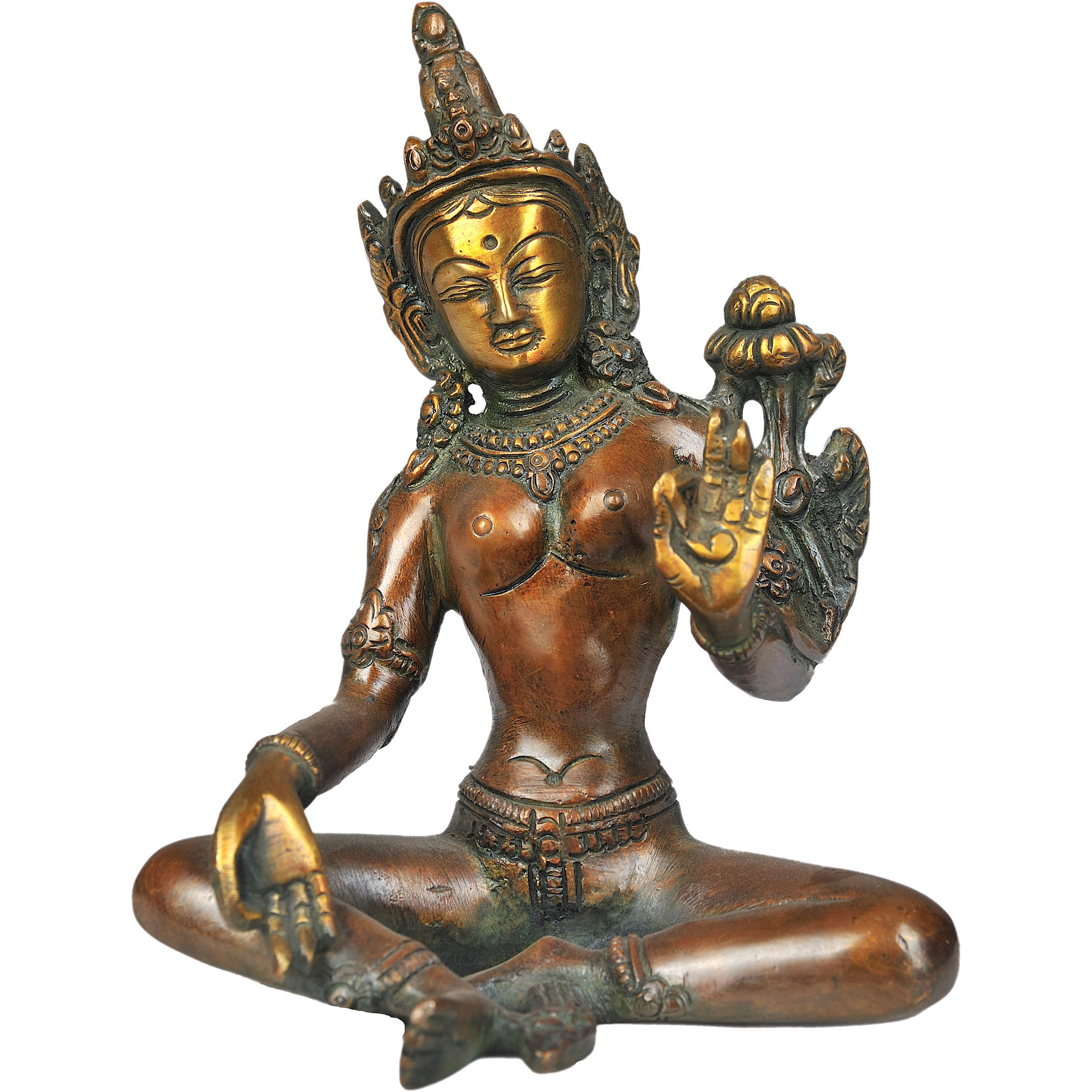 Tibetan Buddhist Saviour Goddess Green Tara