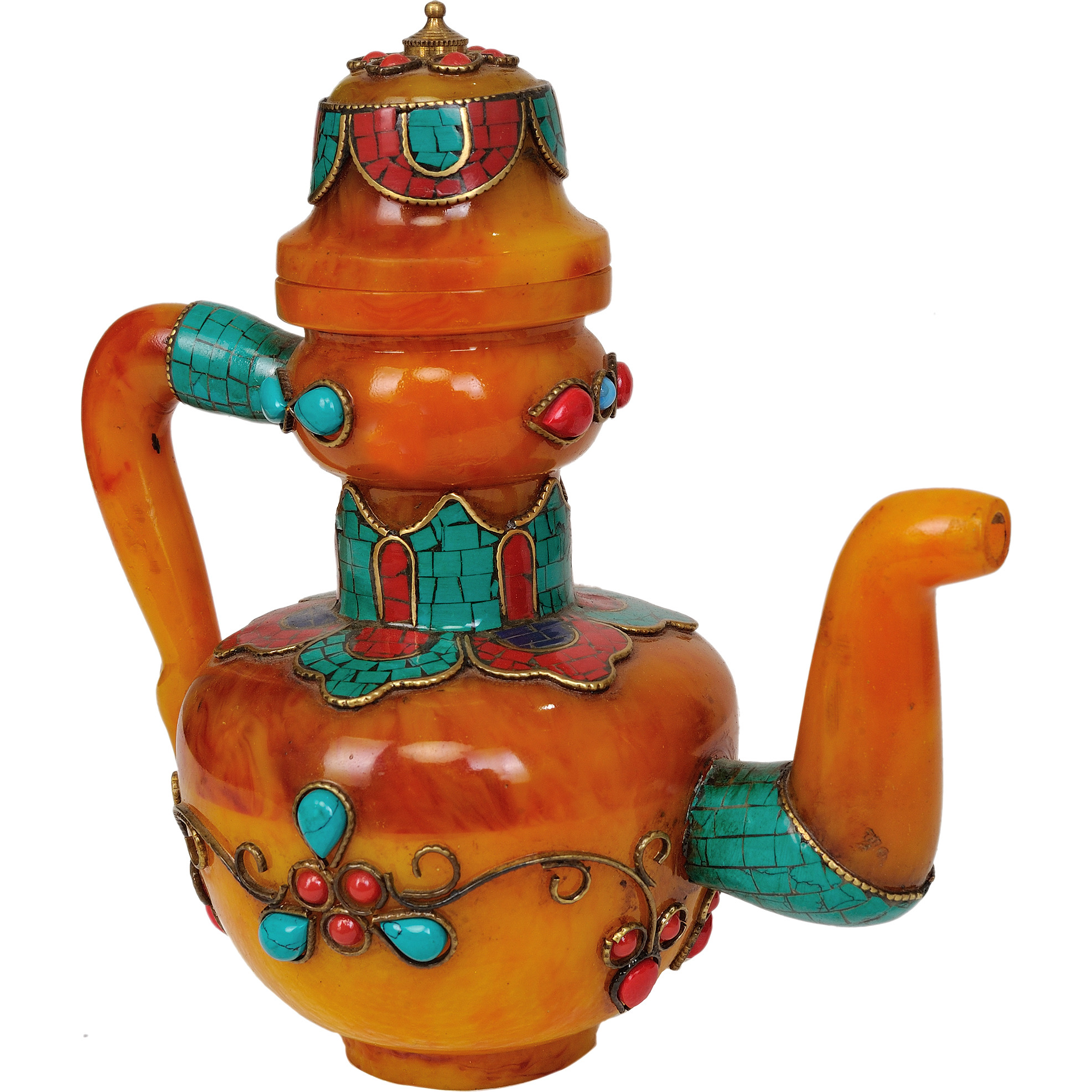 Tibetan Buddhist Kettle