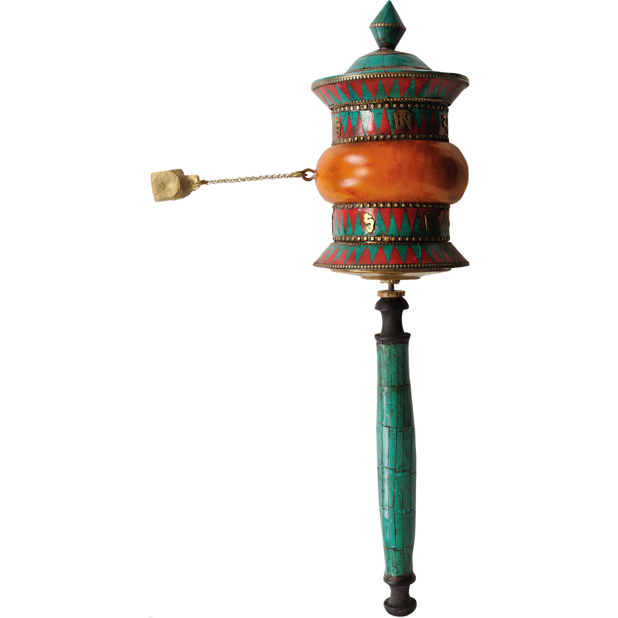 Tibetan Buddhist Prayer Wheel