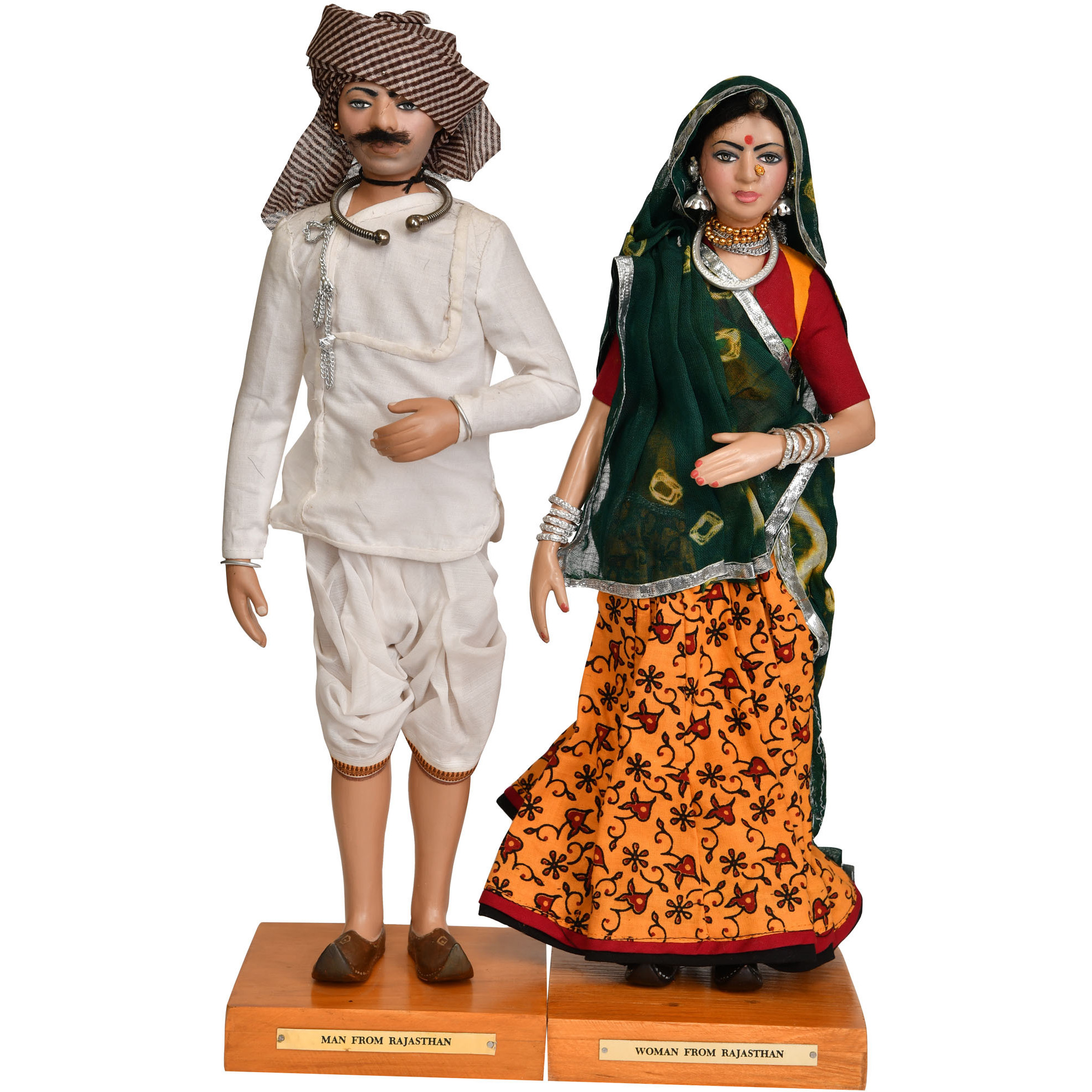 Man and Woman from Rajasthan