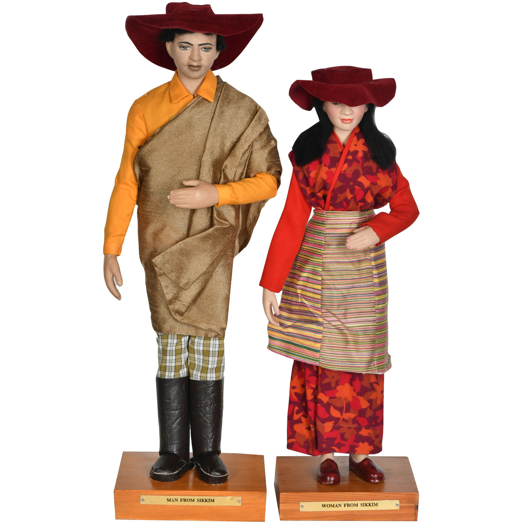 Man and Woman from Sikkim