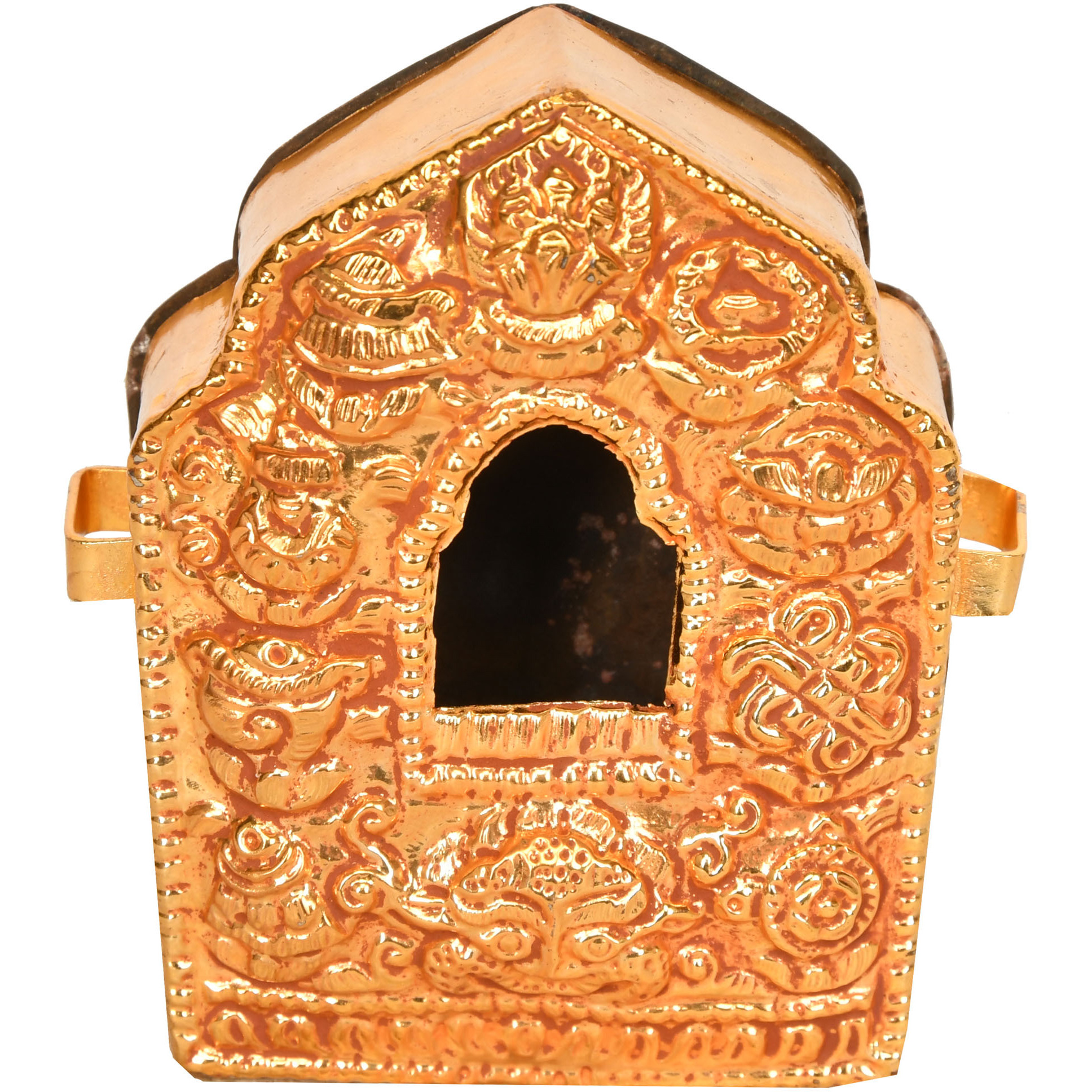 Tibetan Buddhist Gau Box - Portable Shrine (Made in Nepal)