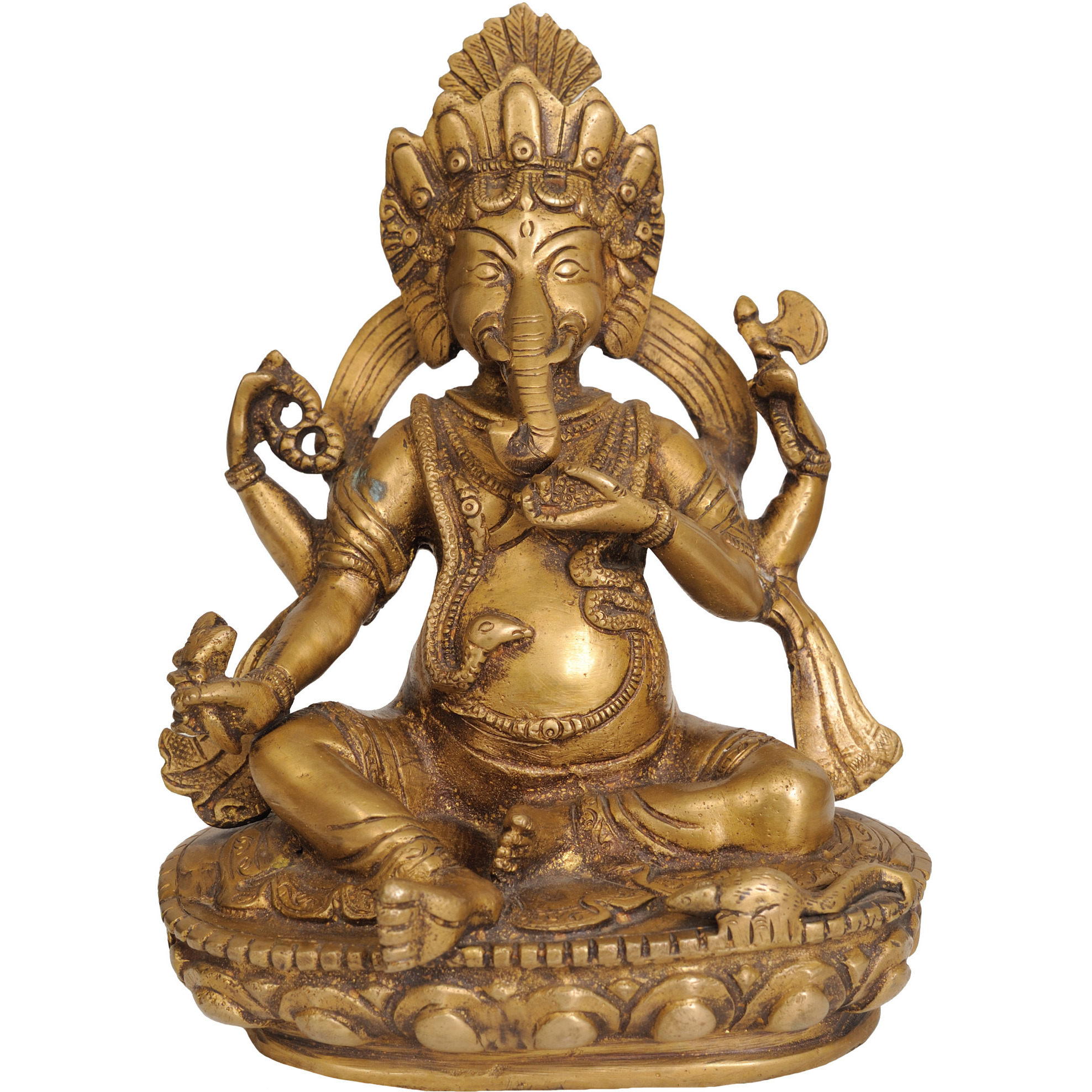 Lord Ganesha in Nepalese Style