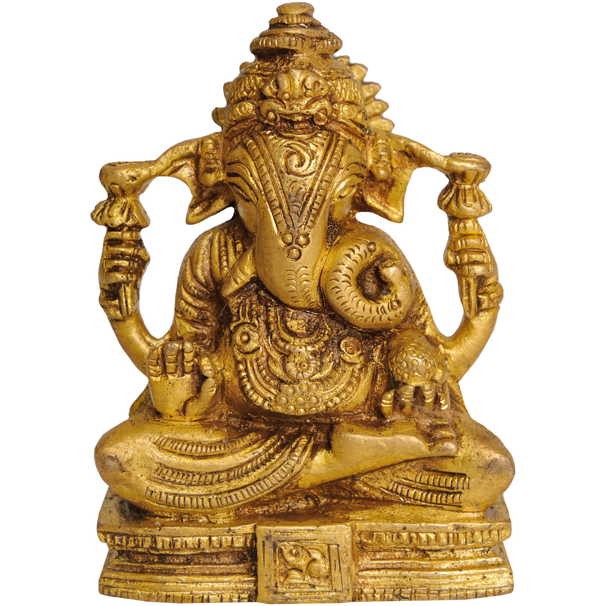 Seated Ganesha (Small Statue)
