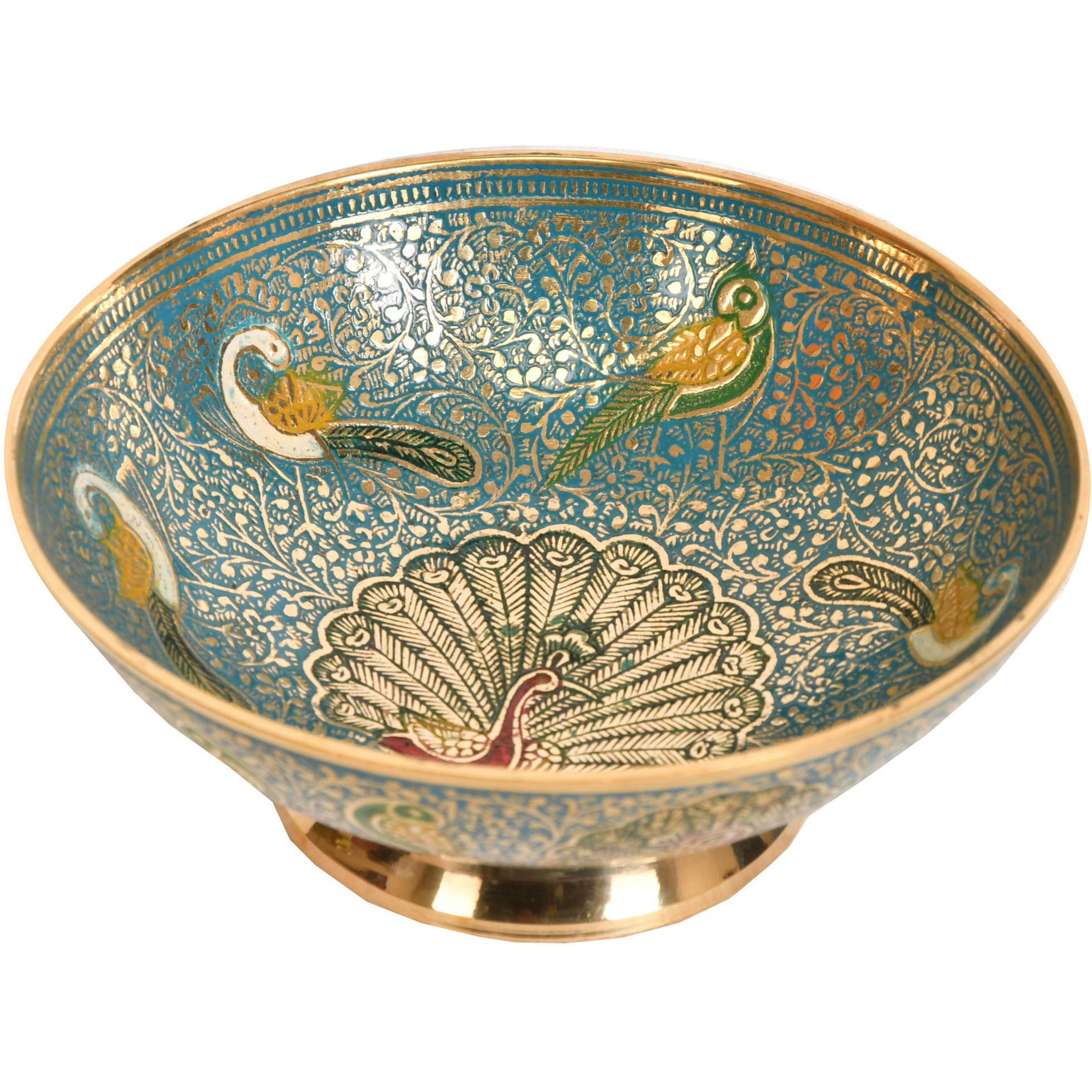 Peacock Dry-Fruit Bowl