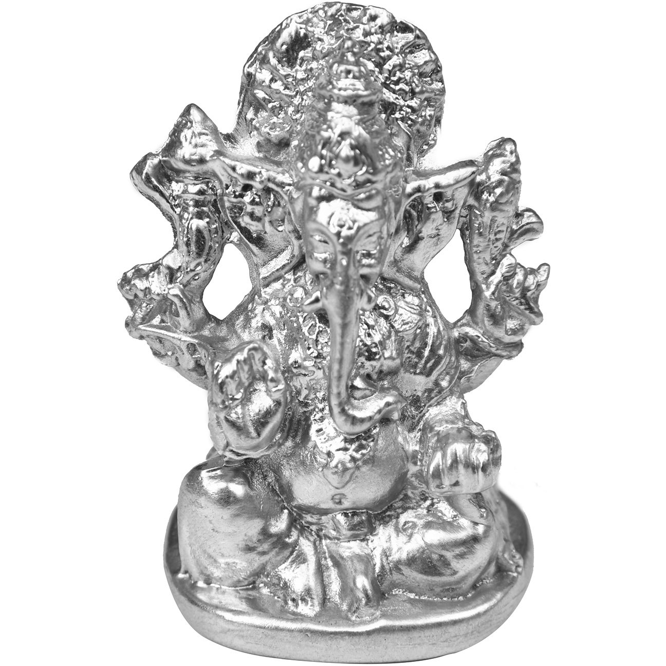 Lord Ganesha  in Ashirwad Mudra (Carved in Parad)