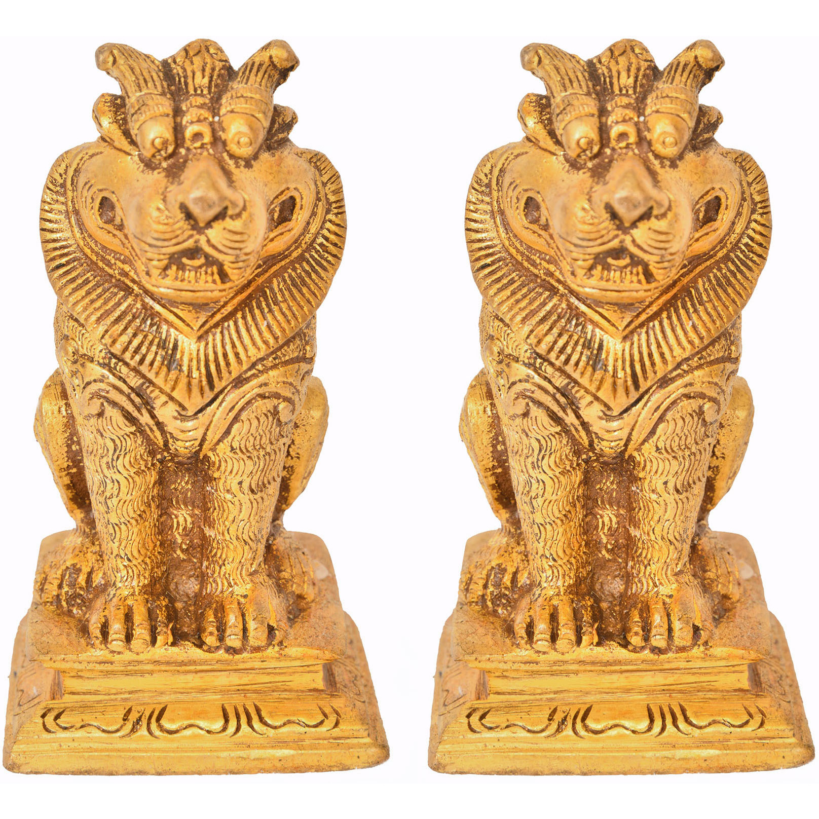 Pair of Yali (Temple Guardians)