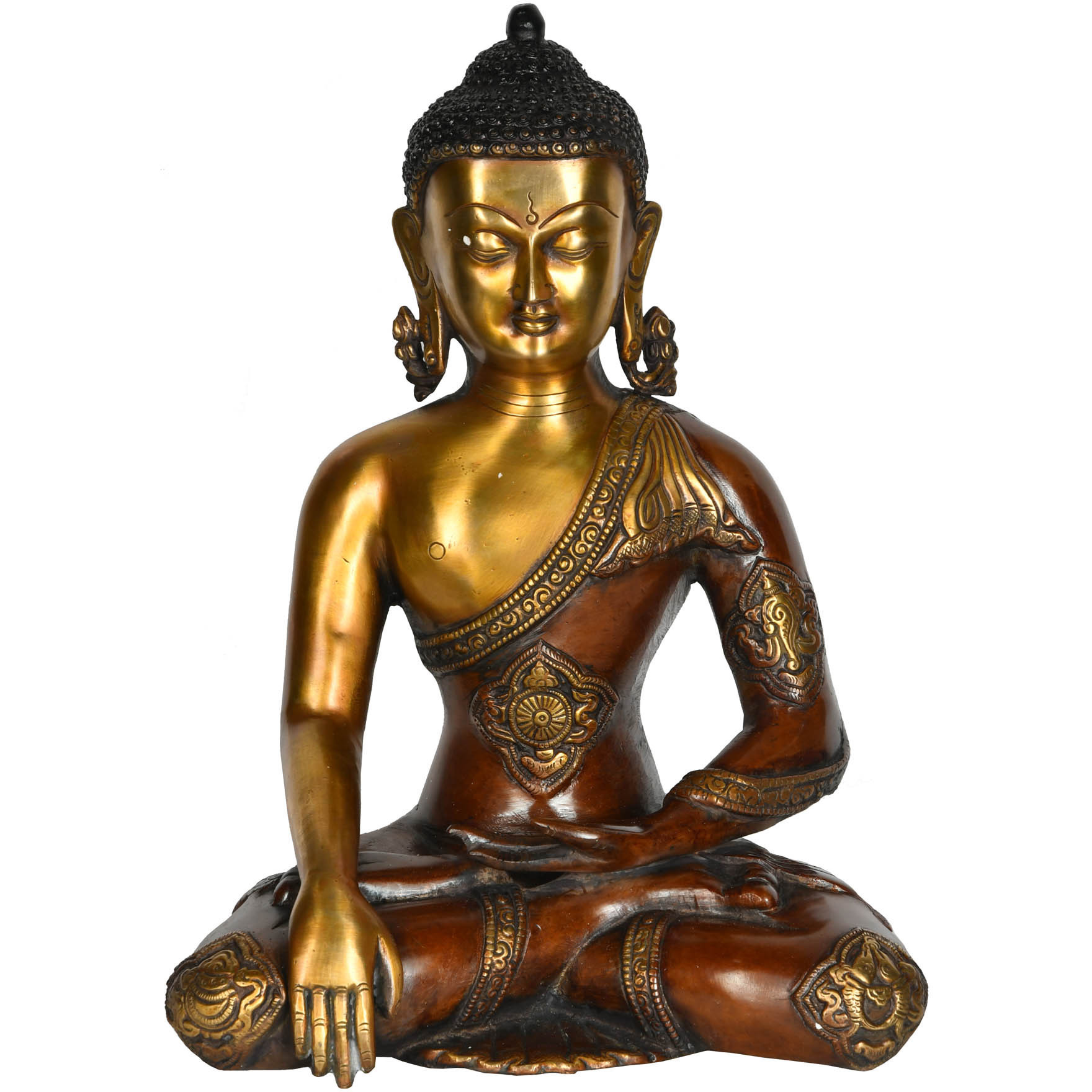Lord Buddha in Earth Tocuhing Gesture