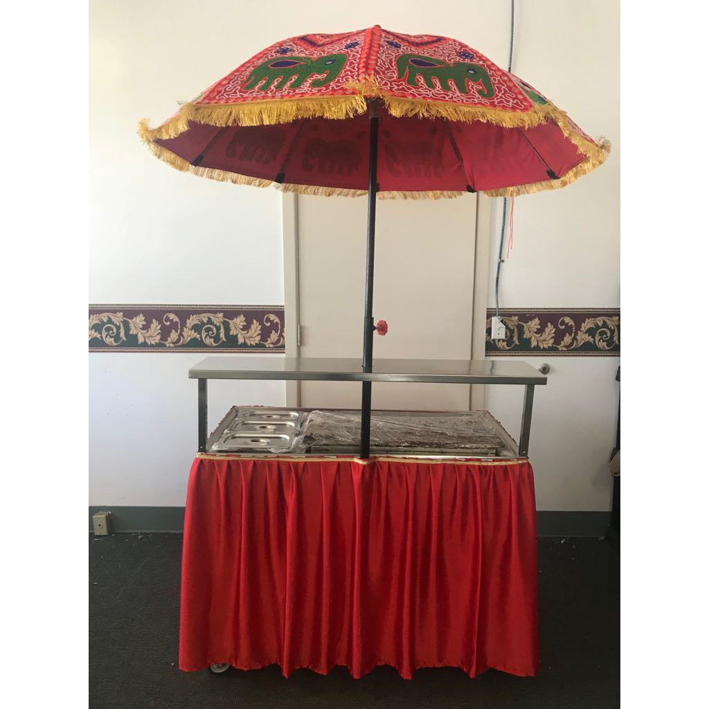 Dosa Counter Cart / Counter for Catering & Restaurants on Wheels