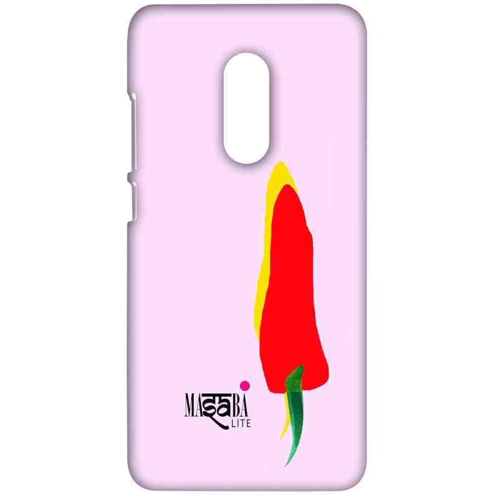 Masaba Yellow Red Chilli - Sublime Case for Xiaomi Redmi Note 4