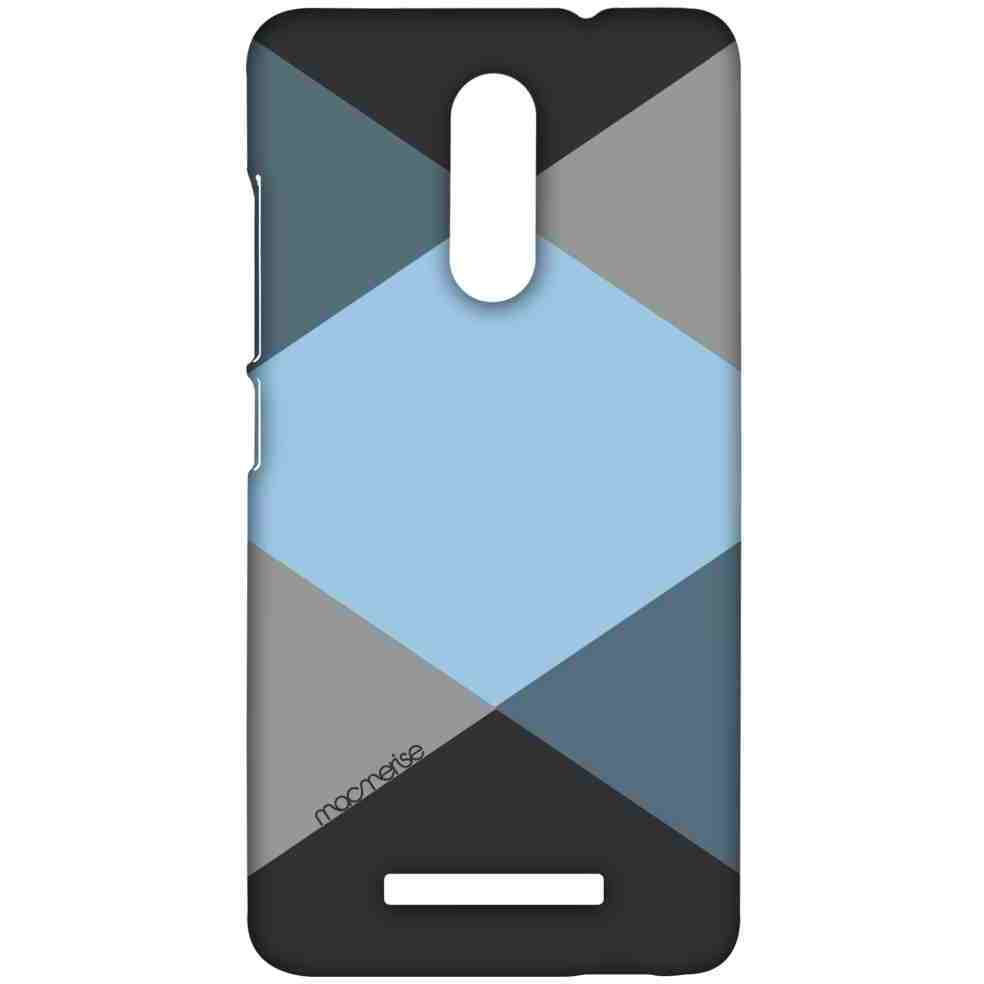 Criss Cross Blugrey - Sublime Case for Xiaomi Redmi Note 3