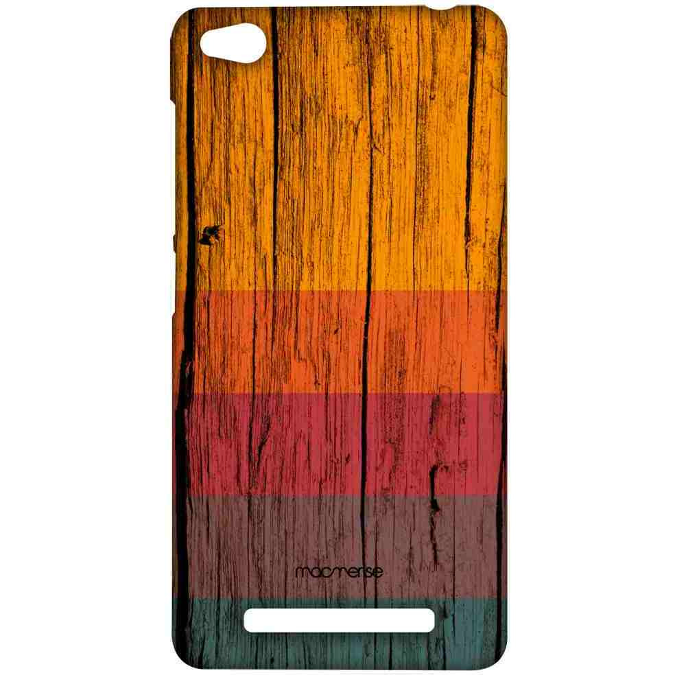 Wood Stripes Chrome - Sublime Case for Xiaomi Redmi 3S