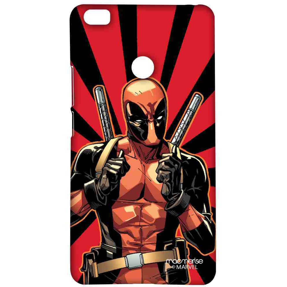 Smart Ass Deadpool - Sublime Case for Xiaomi Mi Max