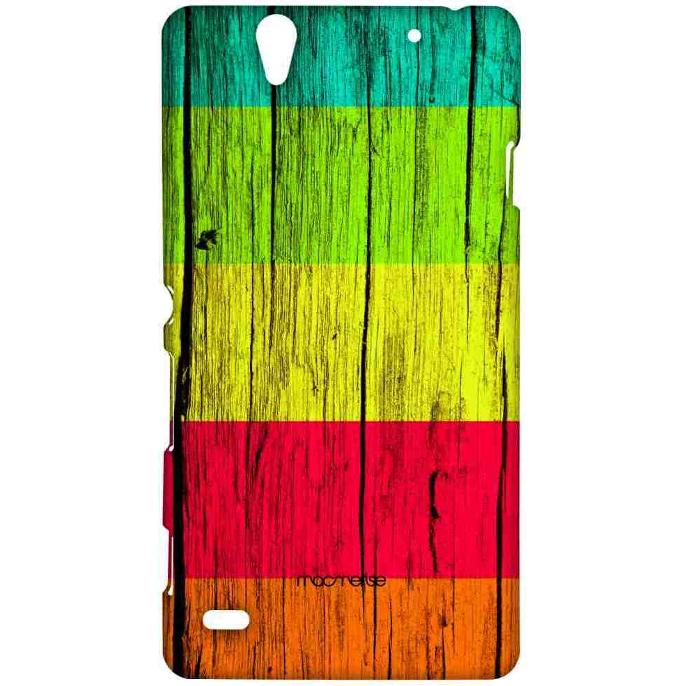 Wood Stripes Ensemble - Sublime Case for Sony Xperia C4