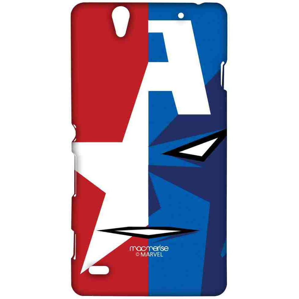 Face Focus Captain America - Sublime Case for Sony Xperia C4