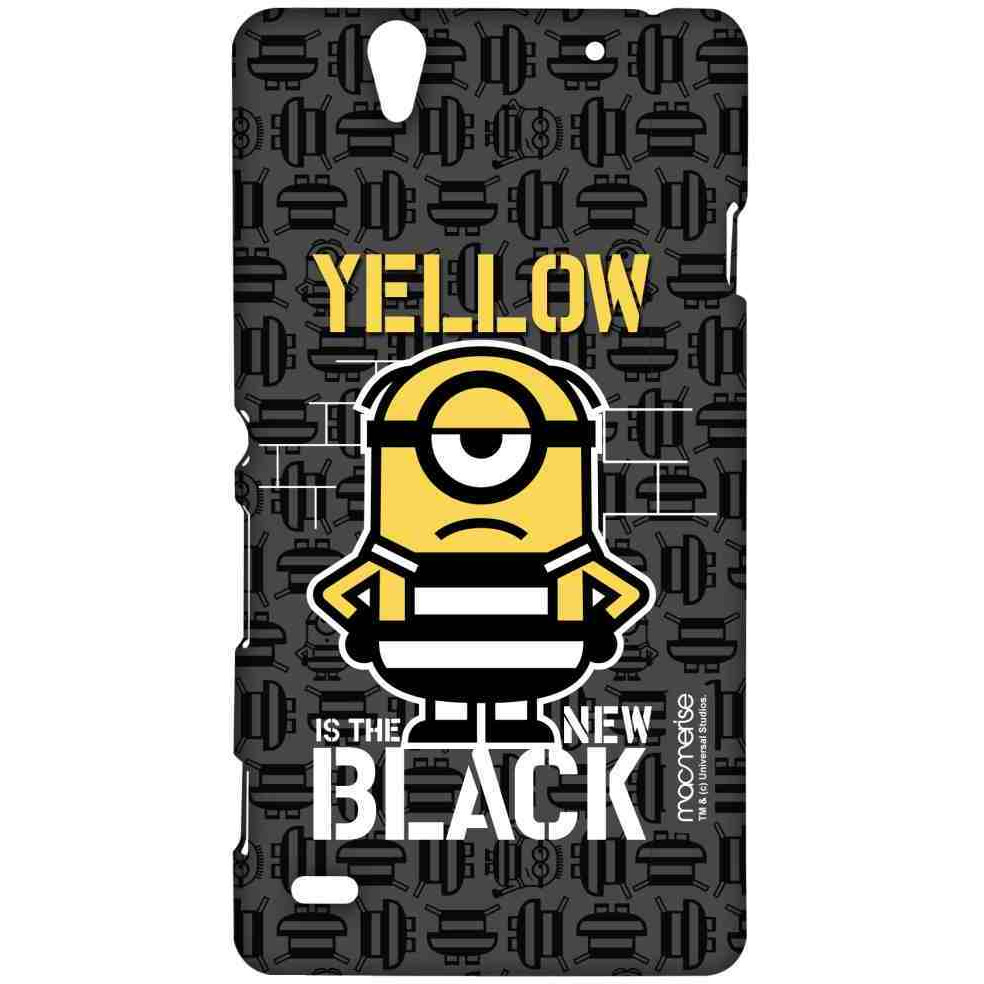 Yellow Black - Sublime Case for Sony Xperia C4