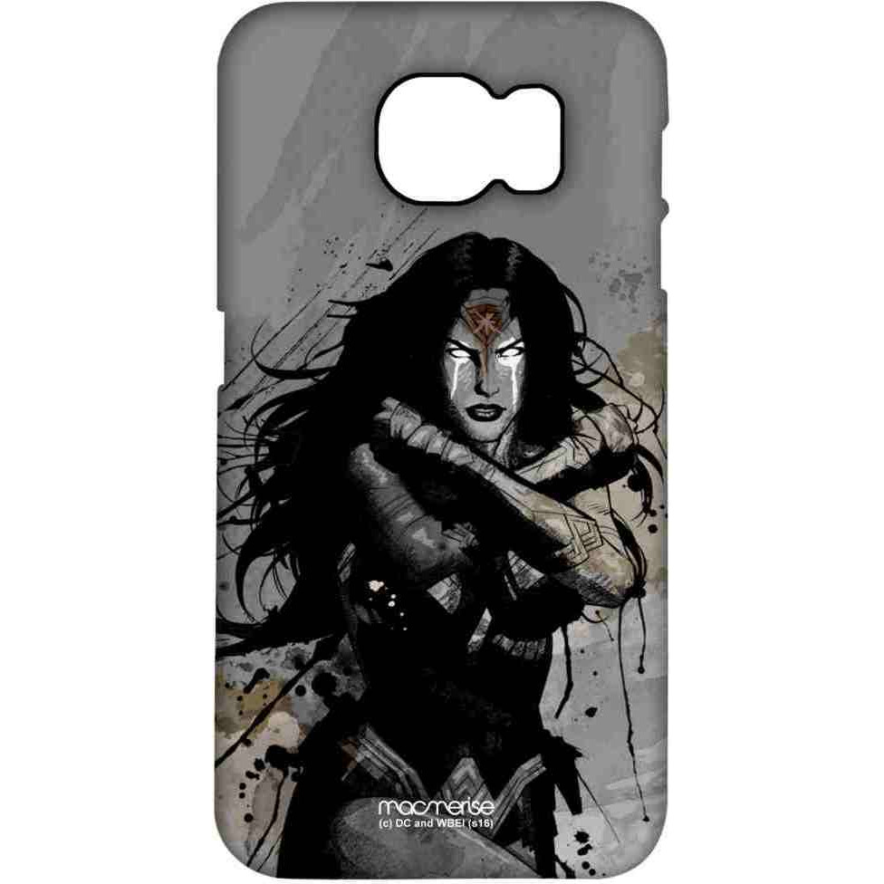 Sketched Wonder Woman - Pro Case for Samsung S7 Edge