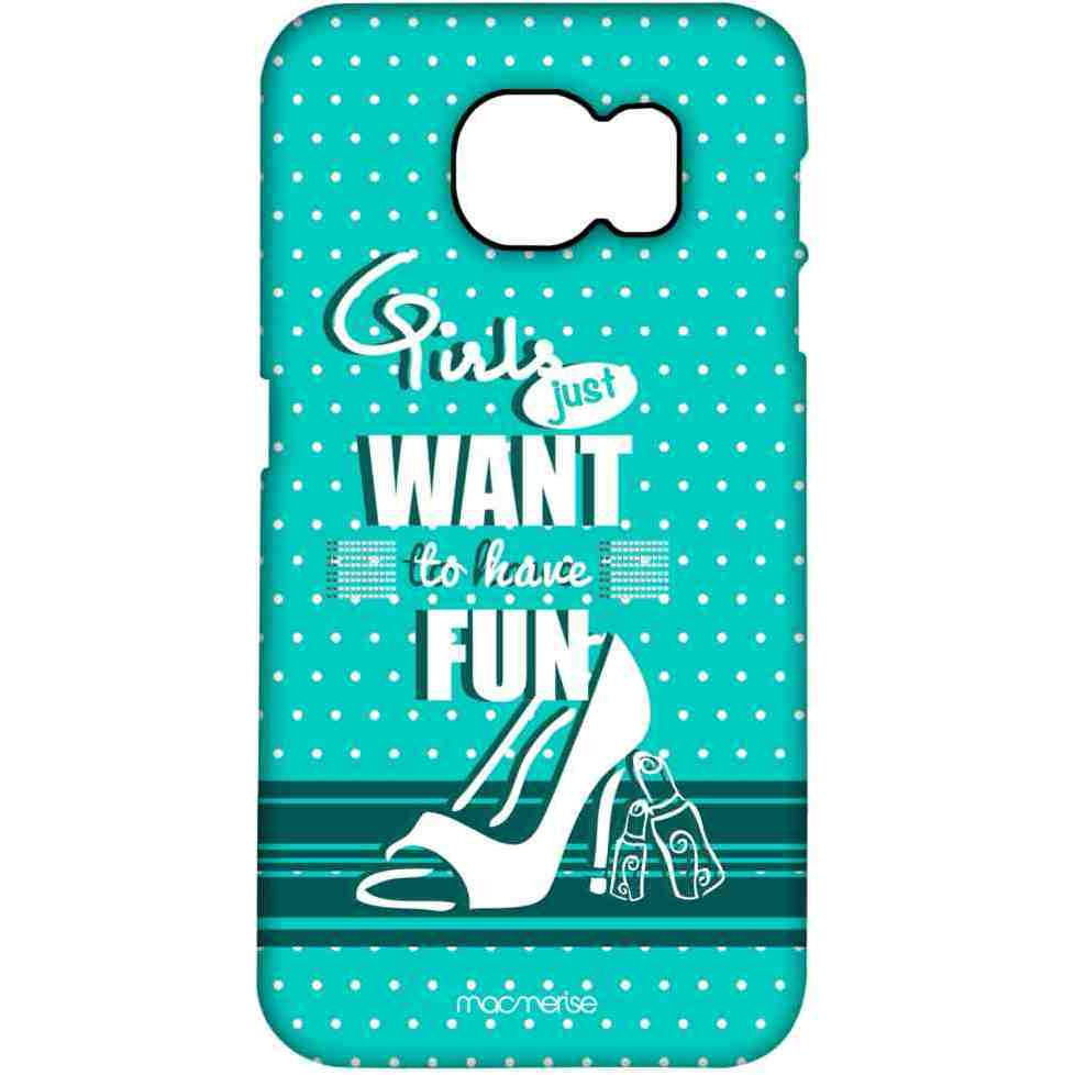 Girl Fun Turquoise - Pro Case for Samsung S7 Edge