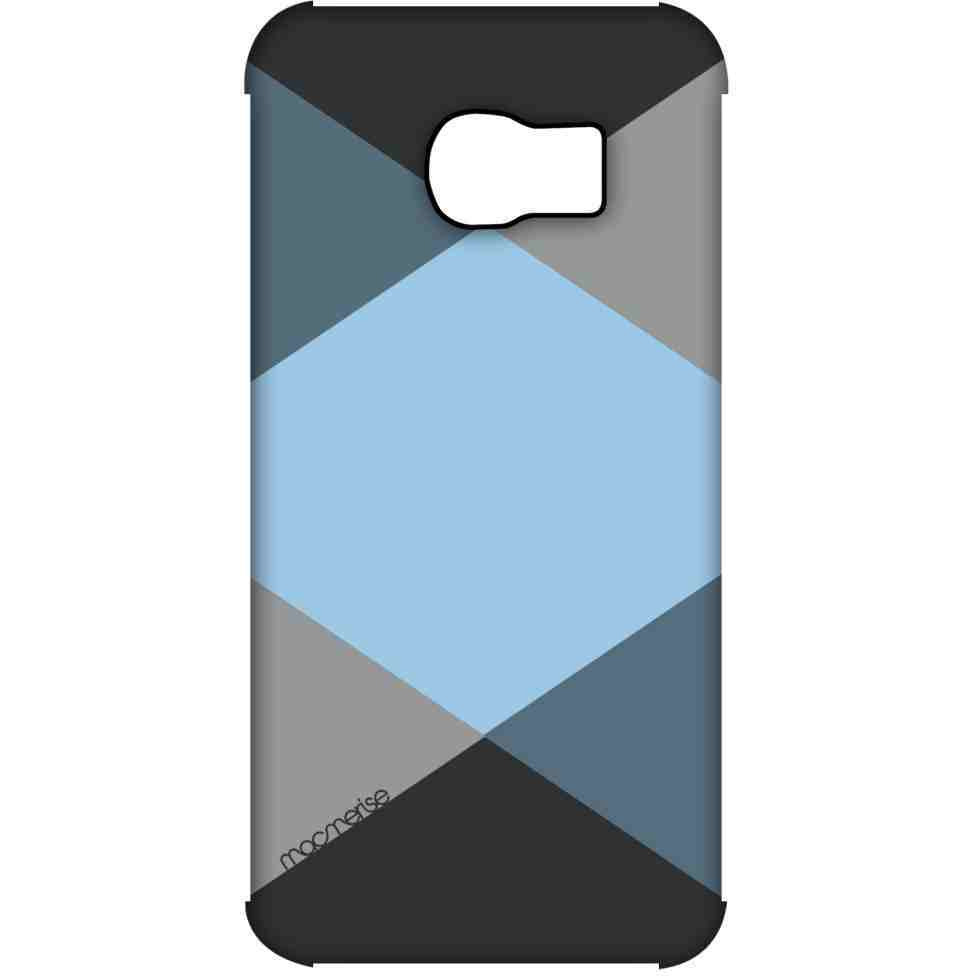 Criss Cross Blugrey - Pro Case for Samsung S6 Edge