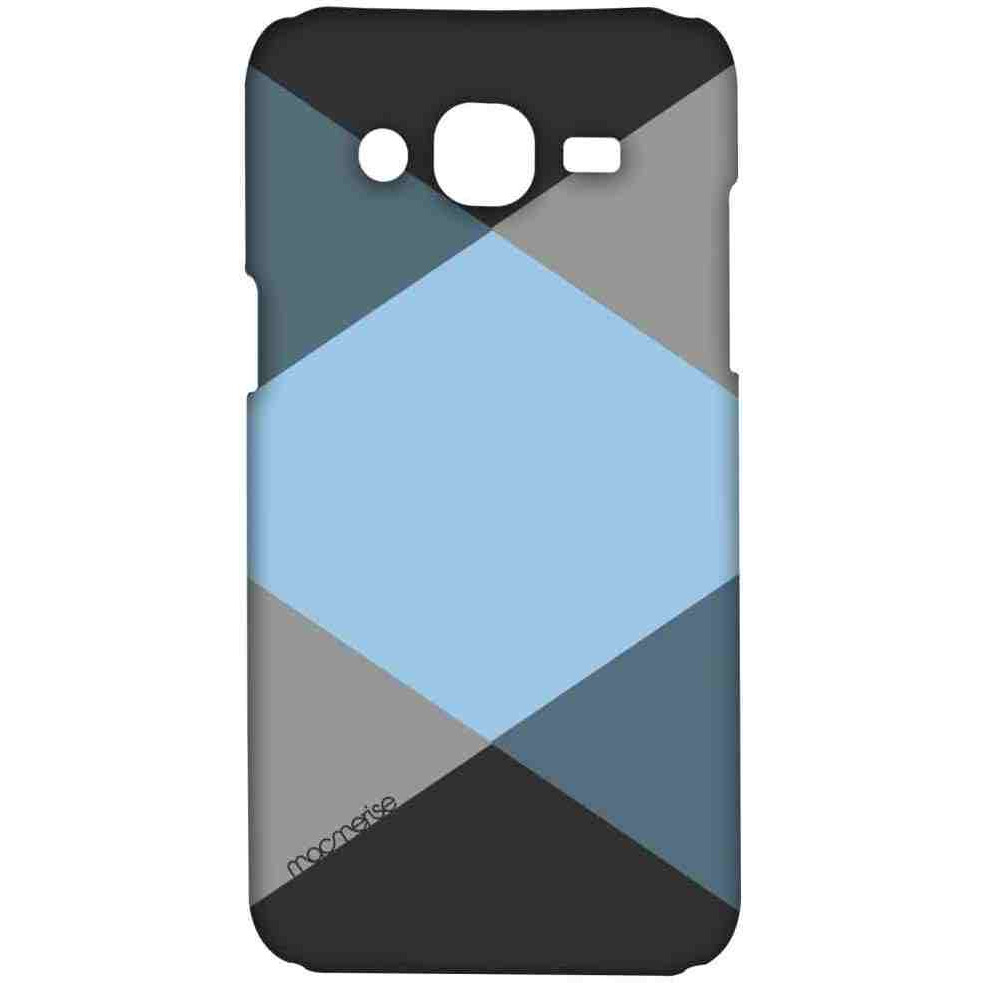 Criss Cross Blugrey - Sublime Case for Samsung On7 Pro