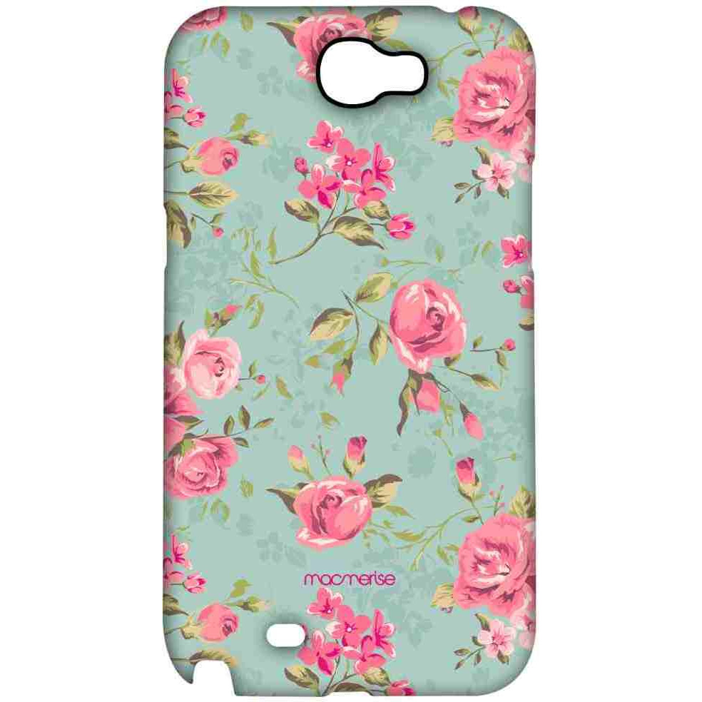 Teal Pink Flowers - Sublime Case for Samsung Note 2