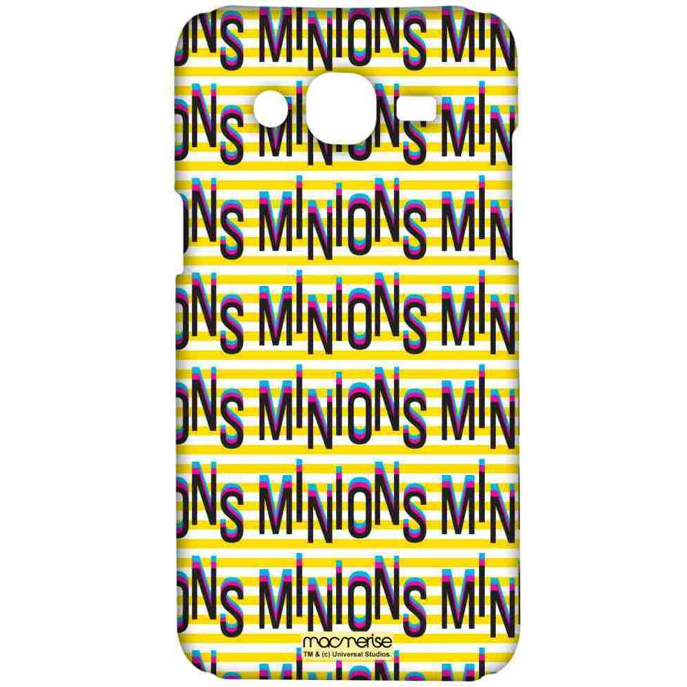 Minion Word Art - Sublime Case for Samsung J5