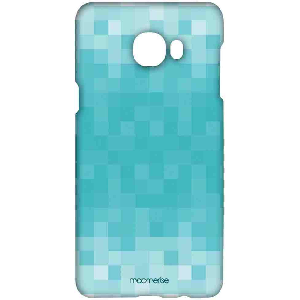 Pixelated Blue - Sublime Case for Samsung C7