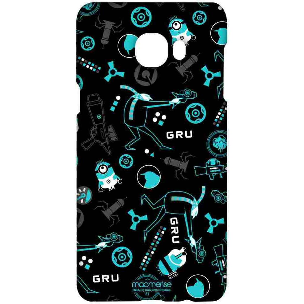 Gru Mania Teal - Sublime Case for Samsung C7