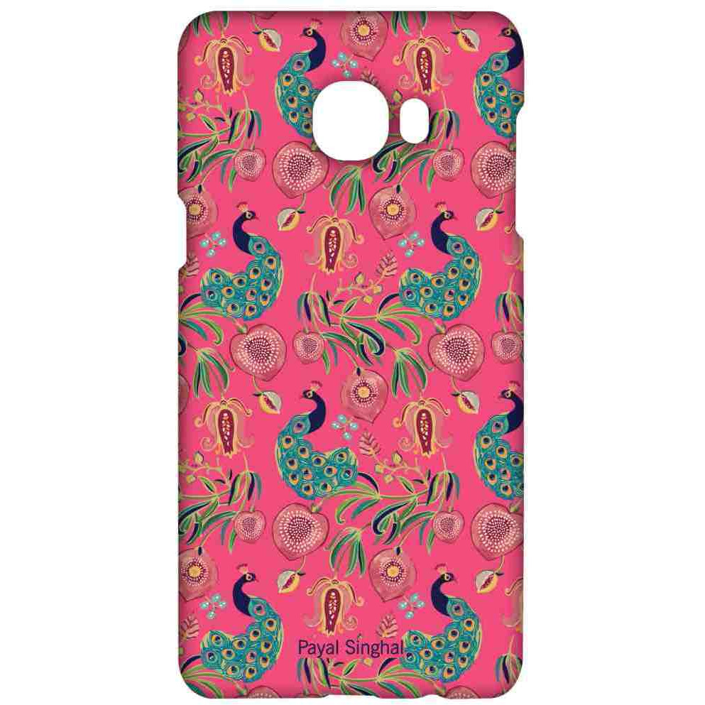 Payal Singhal Anaar and Mor Pink - Sublime Case for Samsung C7
