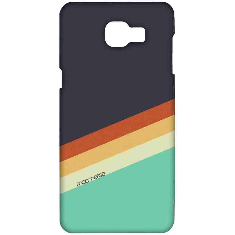 Slope Stripes Grey - Sublime Case for Samsung A9 Pro