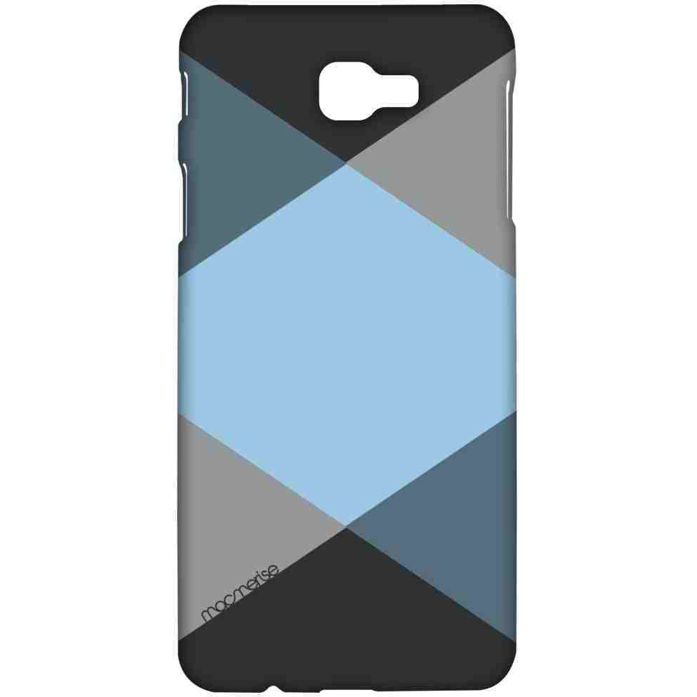 Criss Cross Blugrey - Sublime Case for Samsung A7 (2017)