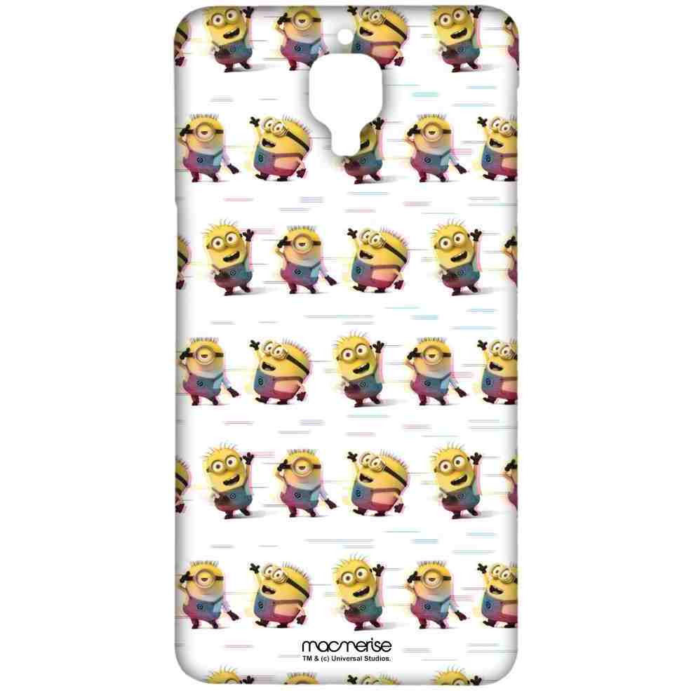 Groovy Minions White - Sublime Case for OnePlus 3T