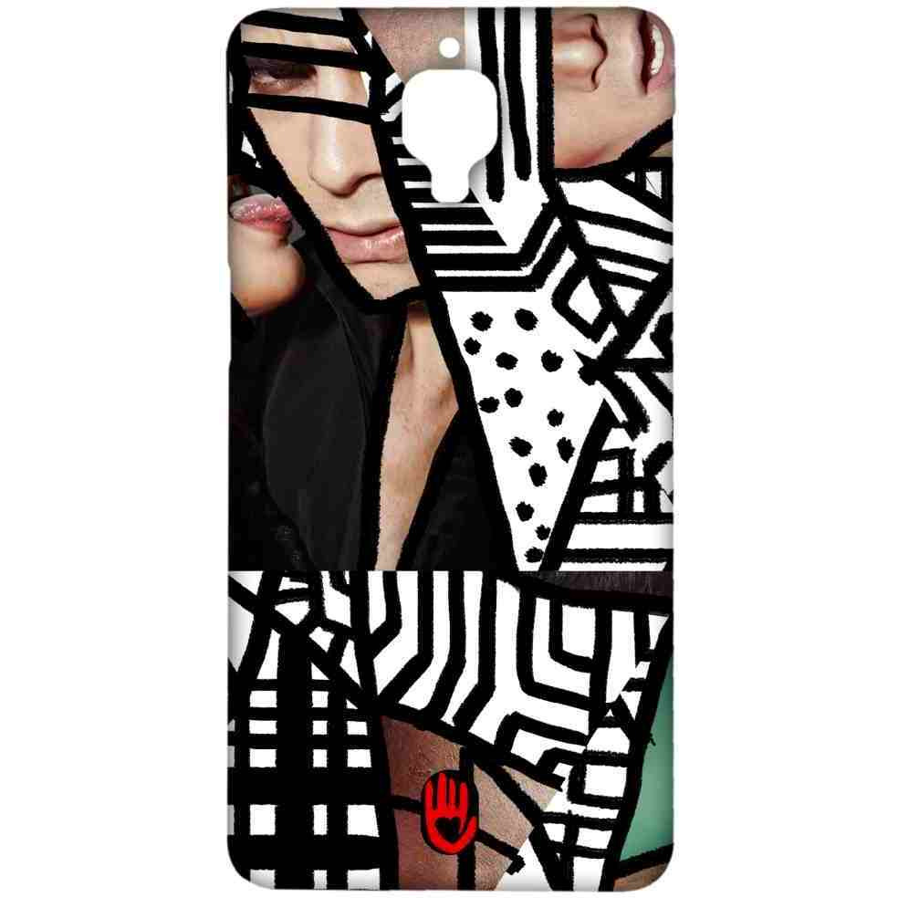 KR Black Abstract - Sublime Case for OnePlus 3
