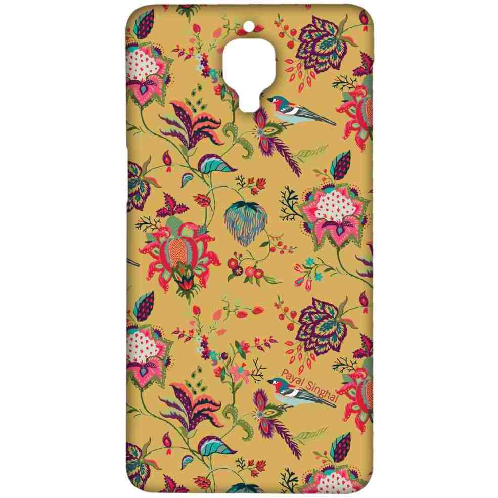 Payal Singhal Chidiya Mustard - Sublime Case for OnePlus 3