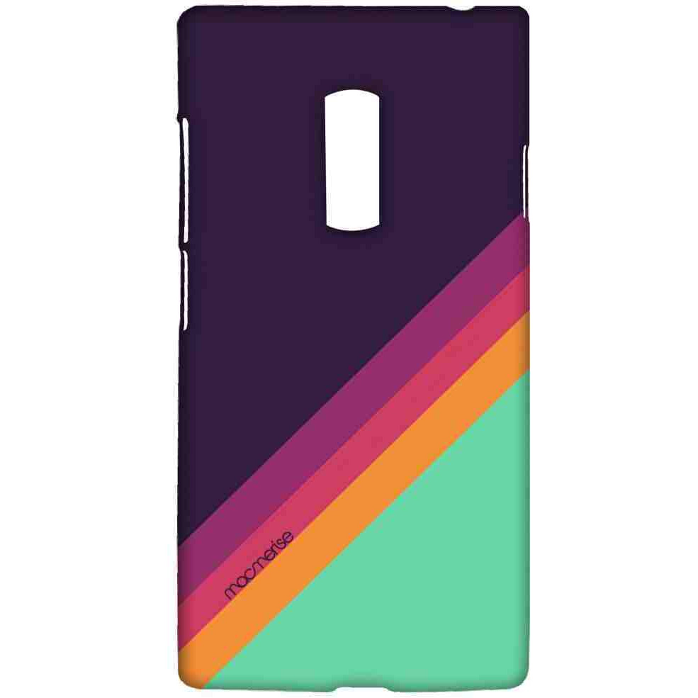 Slope Stripes Purple - Sublime Case for OnePlus 2
