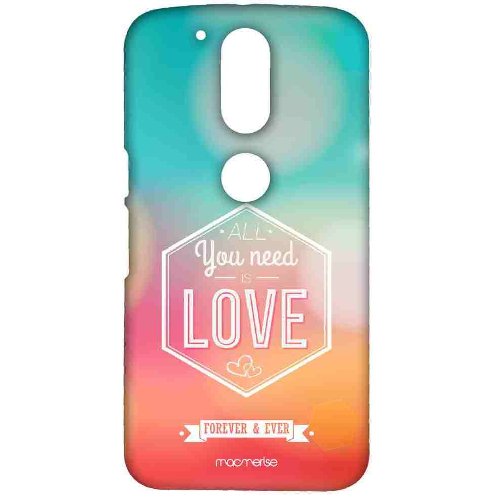 All You Need is Love - Sublime Case for Moto G4 Plus