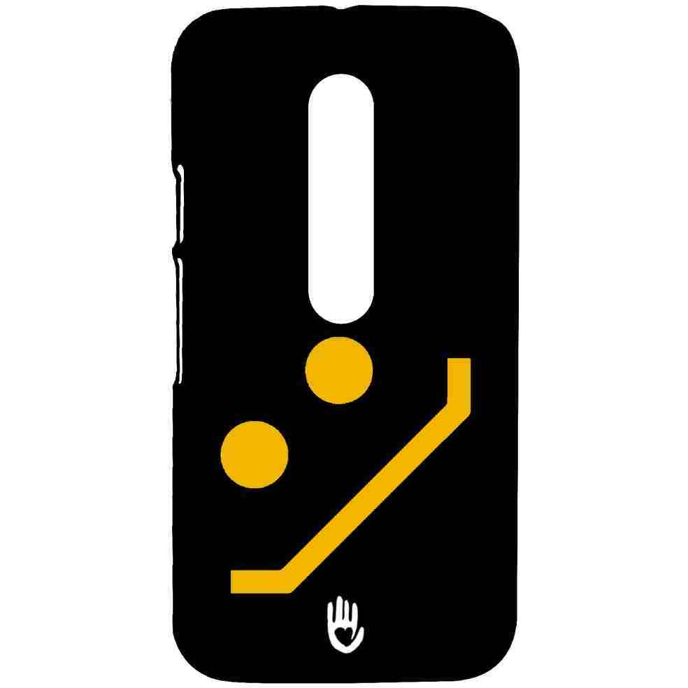 KR Yellow Smiley - Sublime Case for Moto G3