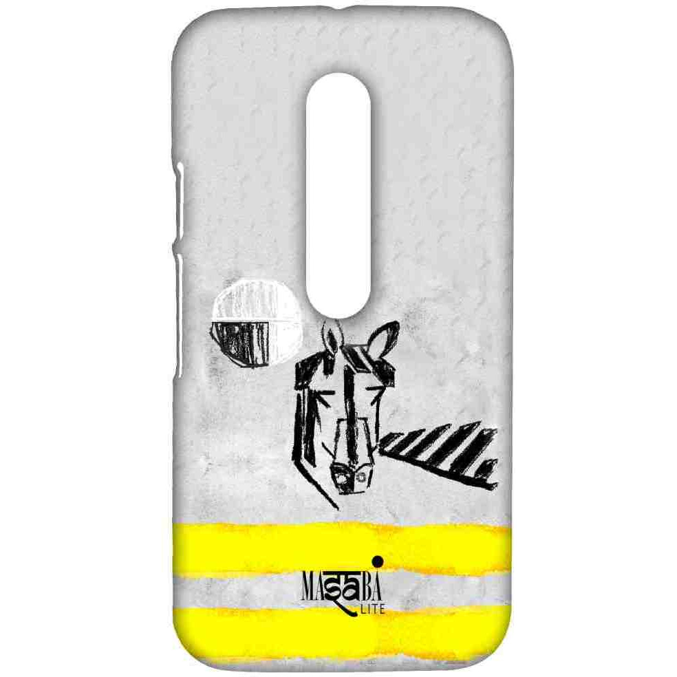 Masaba Yellow Horse - Sublime Case for Moto G3