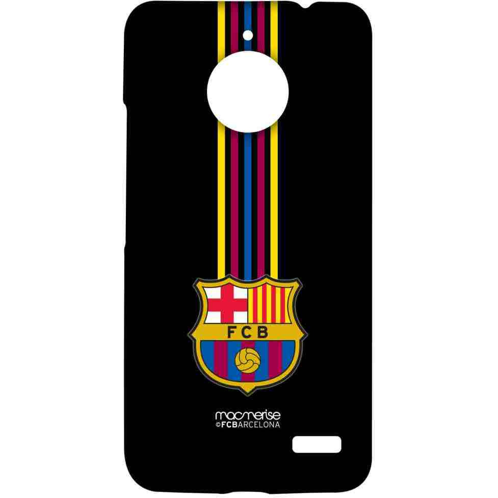 FCB Stripes Black - Sublime Case for Moto E4