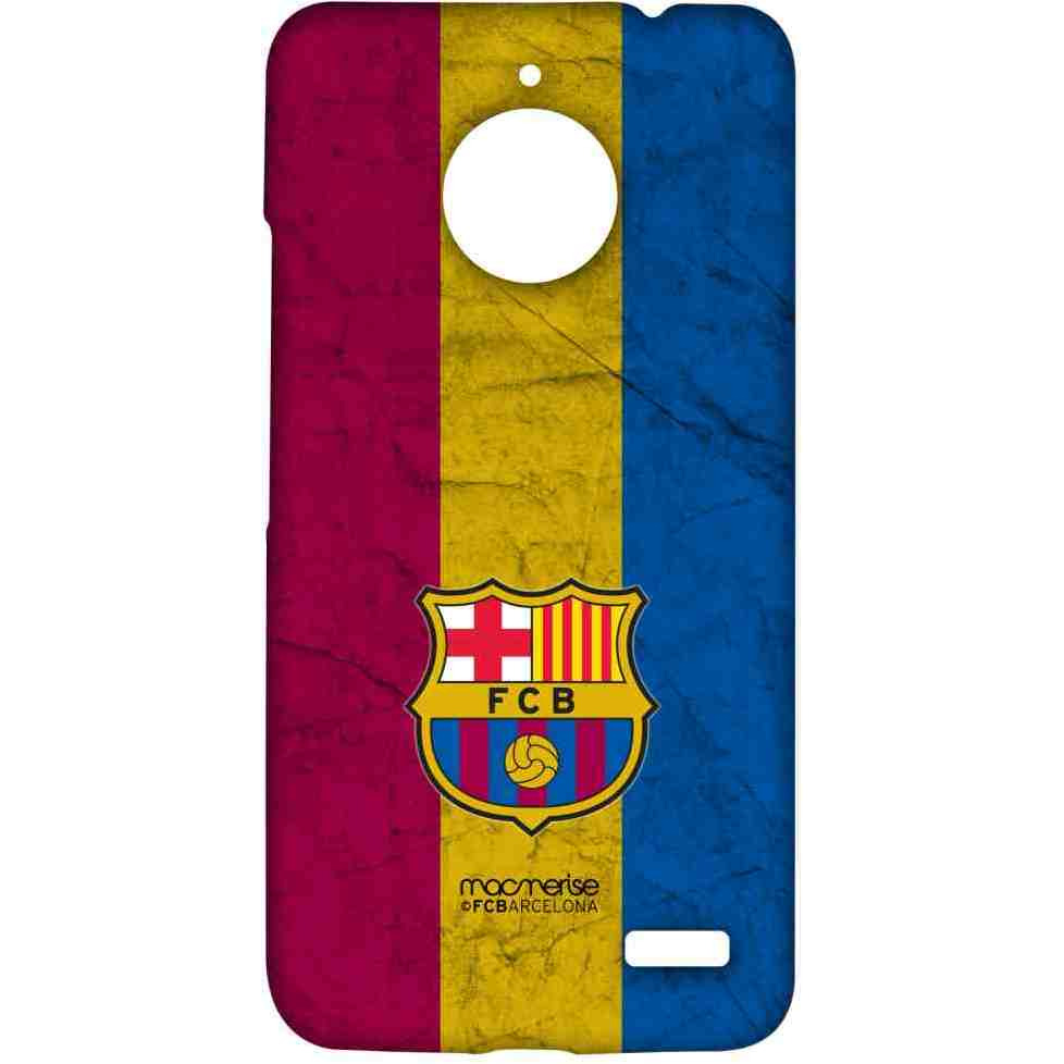 FCB Tricolour - Sublime Case for Moto E4