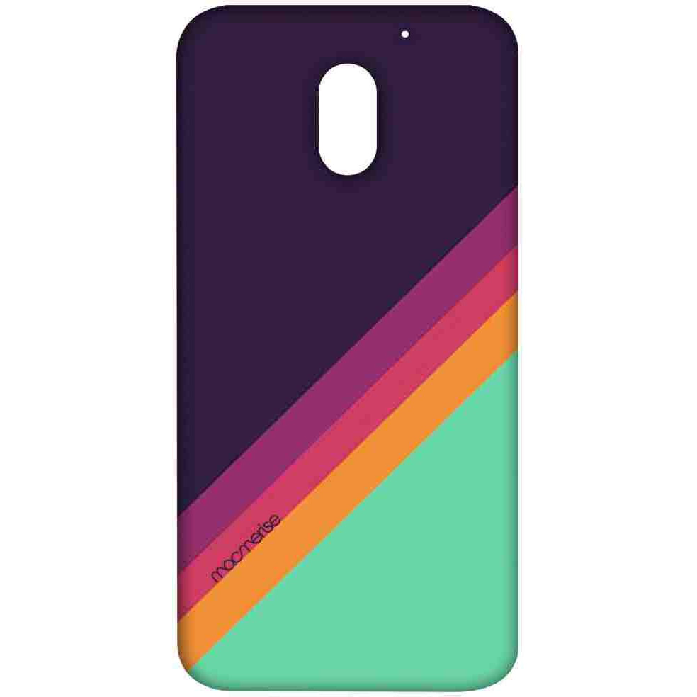 Slope Stripes Purple - Sublime Case for Moto E3