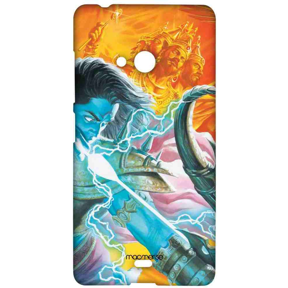 Lord Ram vs Raavan - Sublime Case for Microsoft Lumia 540