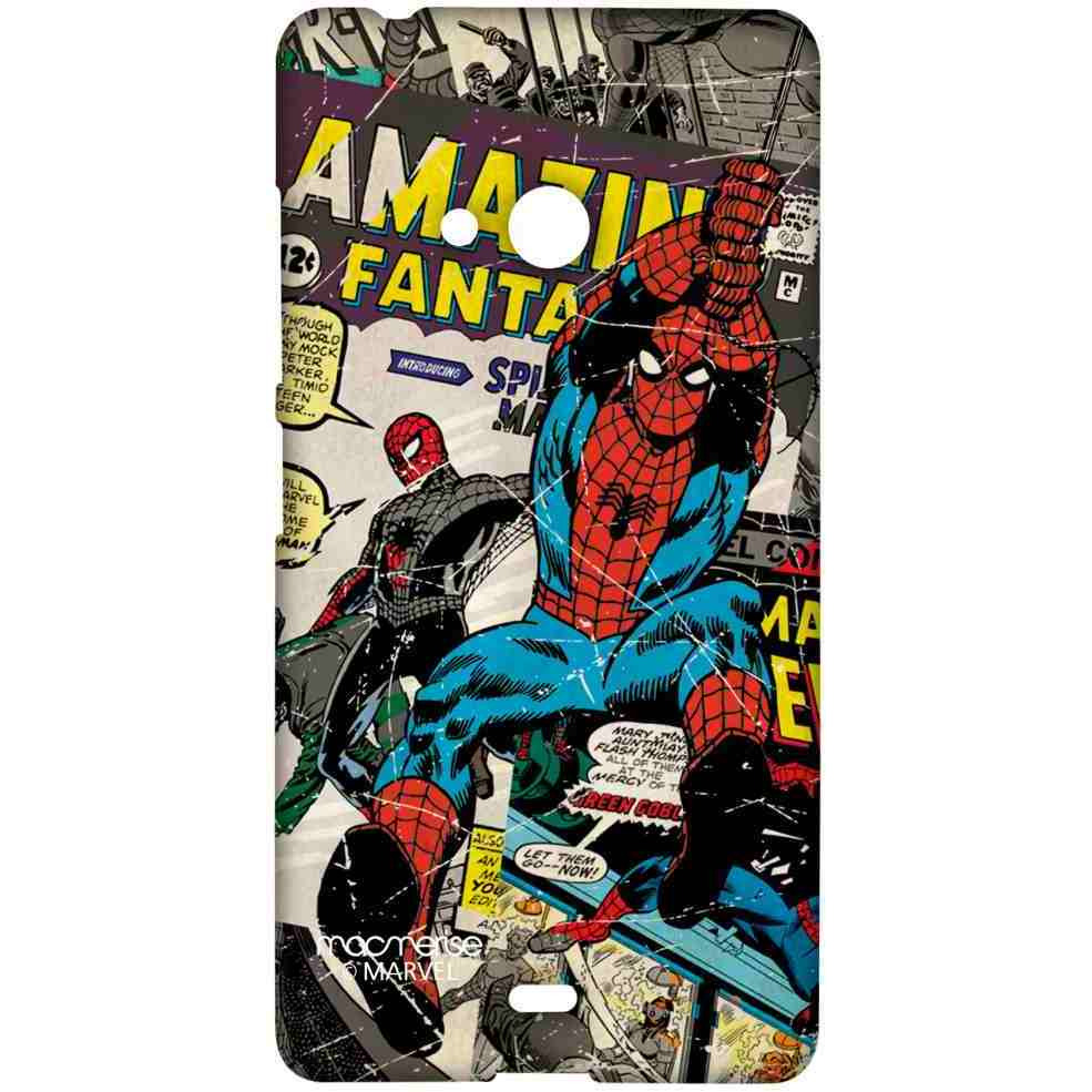 Comic Spidey - Sublime Case for Microsoft Lumia 540