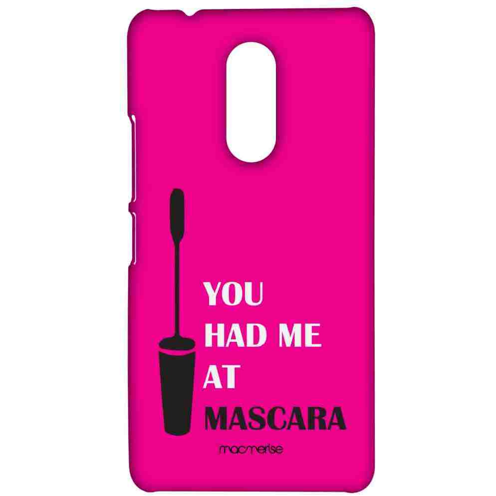 You had me at Mascara - Sublime Case for Lenovo K6 Note