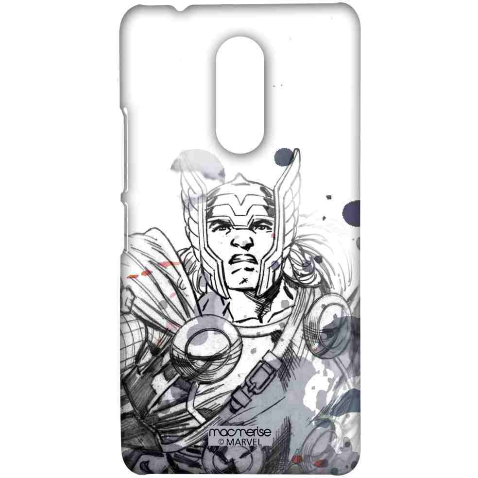 Thor Sketch - Sublime Case for Lenovo K6 Note